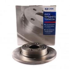 Диск тормозной ВАЗ 2108-2115 передний (АвтоВАЗ) кат № 21080-3501070-00